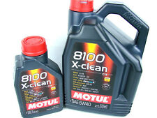 6 litros Motul 8100 X-CLEAN 5w-40 ACEITE 5w40 ACEITE DE MOTOR DIESEL GASOLINA