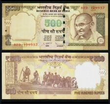 2012 INDIA 500 RUPEES UNC @P-99ab