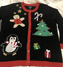Gloria Vanderbilt Casuals Ugly Christmas Sweater size XL