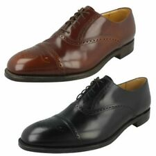 Mens Loake Formal Lace Up Brogue Shoes - Oban