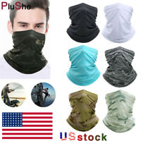 Outdoor Tactical Gaiter Balaclava Face Mask Cover Headband Bandana Scarfs