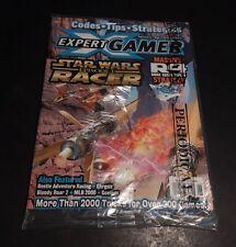 Expert Gamer June 1999 Star Wars Racer Epsiode 1 Sealed