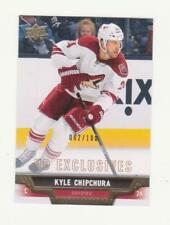 2013-14 UD Series 2 Kyle Chipchura UD Exclusives Parallel Card # 062/100 (13-14