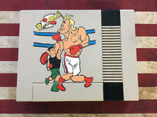 Custom hand painted Nintendo NES top shell system cover Punch-Out little mac