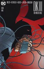 DARK KNIGHT III The Master Race #9 Frank Quitely VARIANT Cover 1:100