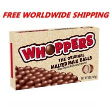 Whoppers Malted Chocolate Milk Balls 5 Oz FREE WORLDWIDE SHIPPING