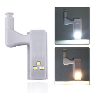 led sensor hinge lights for kitchen cabinet closet wardrobe warm/cool white D9D
