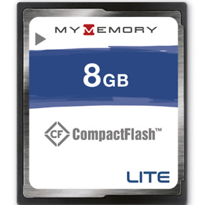 MyMemory LITE 8GB Compact Flash Card For Digital camera