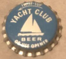 5 Vintage Yacht Club Beer Twist Or Opener Uncirculated Bottle Caps