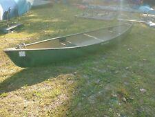 17' green Wenonah Canoe, used, good condition