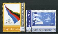 Grenada 2006 MNH Winter Olympics Torino Additional Values 2v Set Posters Stamps