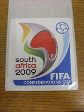 2009 FIFA Confederations Cup: South Africa - Sticker, Unused, 12cm x 13cm. Thank