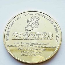 1916 Commemorative Gold Coin - Irish Republican 1916 Easter Rising Centenary