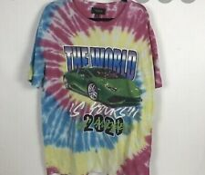 Pacsun The World Is Yours 2020 Tie Dye! Size Medium