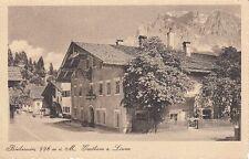35230/66- Bieberwier mit Gasthaus zu Löwen Bezirk Reutte, Tirol um 1920