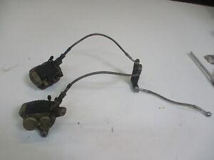 1. Suzuki GSX-R 1100 GU 74 C Bremssattel Bremszange vorne rechts links Stahlflex