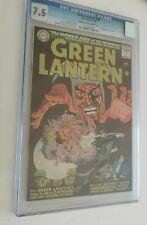 GREEN LANTERN 42 - 3rd APP ZATANNA (SILVER AGE 1966) - CGC 7.5