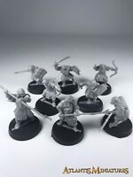 Mordor Orcs X8 - LOTR / Warhammer / Lord of the Rings C541
