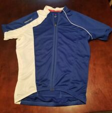 Specialized Cycling Jersey Blue/White Sz L