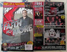 METAL HAMMER + 13 Track CD July 2015 FAITH NO MORE Megadeth 2 Free POSTERS Grohl