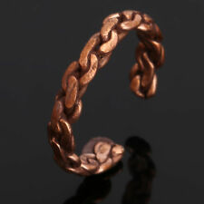 Women'S Tibetan Medicine Ring Copper Magnetic Adjustable Ring With Pure Copper
