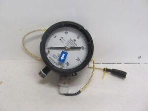 ASHCROFT 45 2279SSH-04L-XFM-30 PRESSURE GAUGE 0-30 PSI RANGE 12/40VDC INPUT