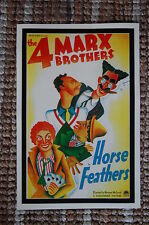 Horse Feathers Lobby Card Poster The Four Marx Brothers