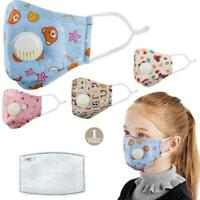 KID Reusable PM2.5 Anti Air Pollution Face Mask W/ Respirator Filters AU