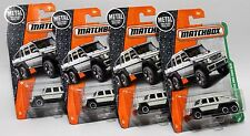 MERCEDES-BENZ G63 AMG 6X6 * LOT OF 4 * 2017 MATCHBOX * FIRST EDITION WHITE 2014