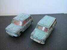 Dinky/Corgi  Austin Mini Countryman , Morris Mini  x 2 - For restoration  1960's