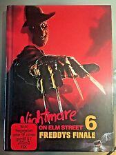 Freddy's Dead The Final Nightmare Blu-ray German Mediabook on Elm Street 6