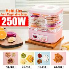 250W 5-Tier Electric Dried Flowers Food Meat Vegetables Dryer Dehydrator