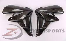 2011-2013 GSR750 GSR 750 Side Mid Radiator Trim Panel Cowl Fairing Carbon Fiber