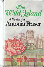 Antonia Fraser THE WILD ISLAND, HC/DJ, 1978 UK ed, Mystery