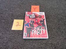 GAMEMILL WII VIDEO GAME BIG TIME RUSH NINTENDO NICKELODEON 2012 NEW