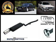 SILENCIEUX BMW 3 E30 316i 318i 1987 1988 1989 1990 1991 Ø80