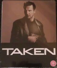 Taken STEELBOOK [Blu-ray & DVD] New & Sealed UK Play.com - Original Release