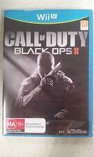 Call of Duty Black Ops 2 II Nintendo WiiU Wii U Brand New