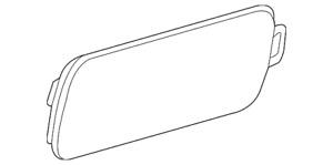 Genuine Audi Side Marker Lamp 4G8-945-071