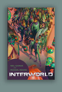 Interworld Neil Gaiman Subterranean Press Signed, Numbered Limited Edition Book
