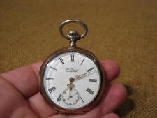 "███►alte Taschenuhr ""Omega"" /800er Silber um 1900 -Bastler(Nr.575)"