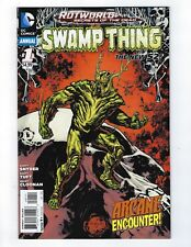 Swamp Thing Annual # 1 Regular Cover Nm New 52 N52 Dc