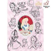 New Disney 108 piece jigsaw puzzle Alice in Wonderland model sheet