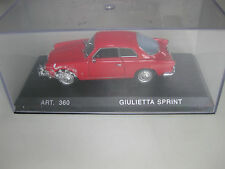 Alfa Romeo Sprint Coupe 1960 Detail Cars Model Car 1/43 no 49615 Art 360