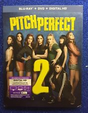 Pitch Perfect 2 (Blu-ray/DVD/Digital HD, 2015; 2-Disc Set) NEW w/ Slipcover