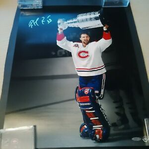 Patrick Roy Signed picture 1992-93 stanly cup celebration 16x20