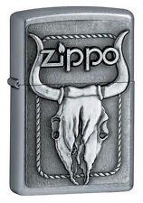 Zippo 20286 barrett-smyth bull skull full size Lighter