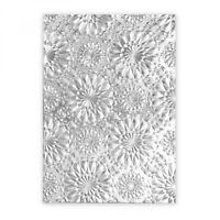 Sizzix 3-D Texture Fades Embossing Folder - Kaleidoscope ITim Holtz  663296