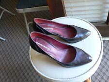 Via Spiga High Heel Pumps Size 6M Dark Brown Made In Italy