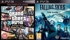 GTA Episodios De Liberty City Usado & Falling Skies Nuevo y Sellado PS3 PAL